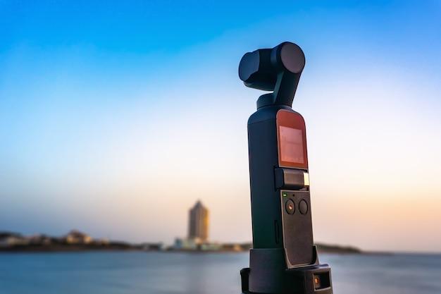 Камера для съемки городского пейзажа