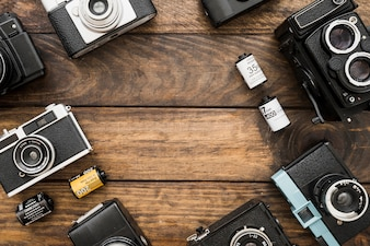 Cameras and film composition