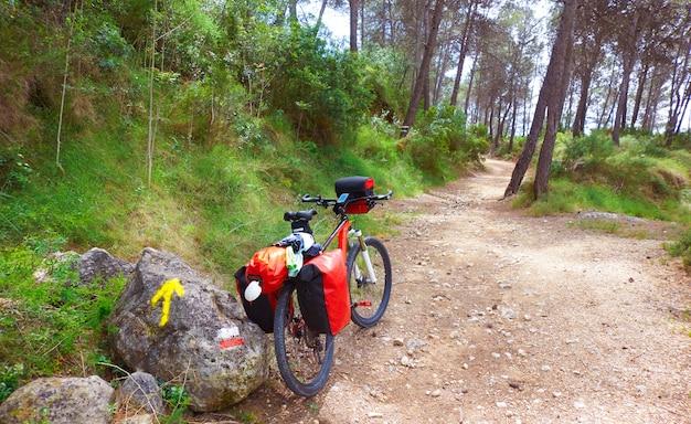 Camino de santiago in bicycle saint james