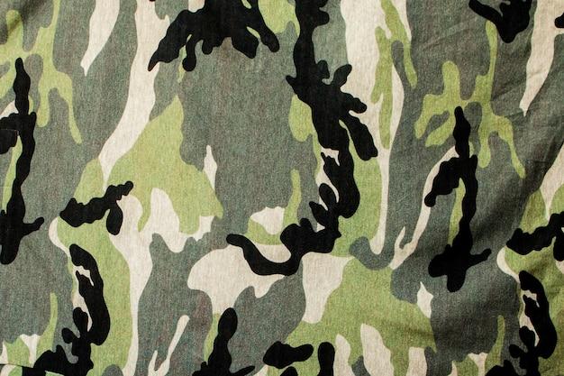 Camouflage textile cloth texture.