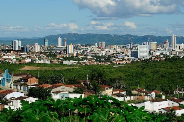 Campina grande paraiba brazil partial view of the city