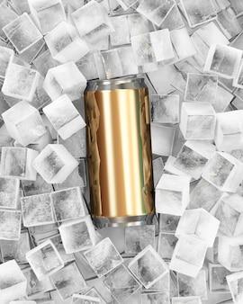 角氷で飲むことができます