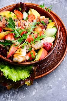 Canadian meat salad