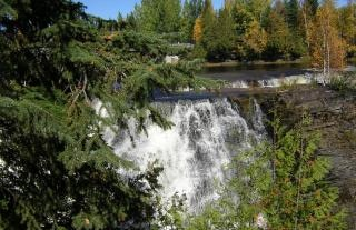 Canadian waterfall, river