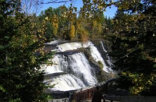 Canadian waterfall, travel