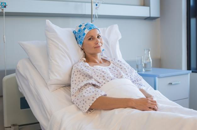 Рак женщина в больнице