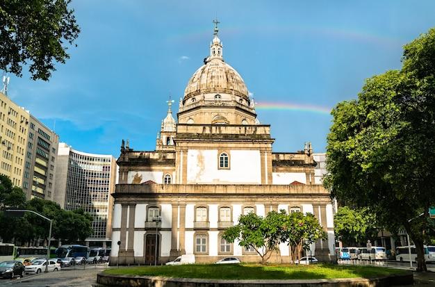 Candelaria church in rio de janeiro, brazil