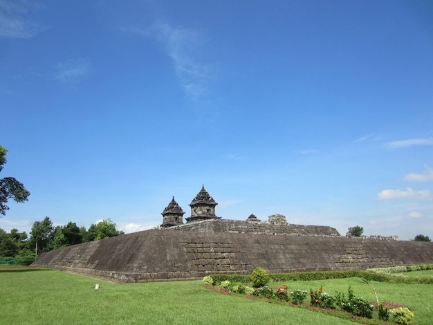 Candi barong or barong temple is hindu temple located in yogyakarta, indonesia.