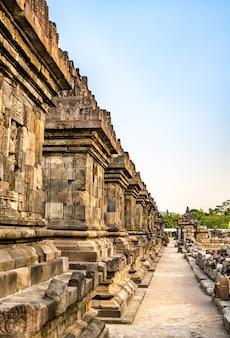 Candi plaosan, a buddhist temple near prambanan in central java, indonesia