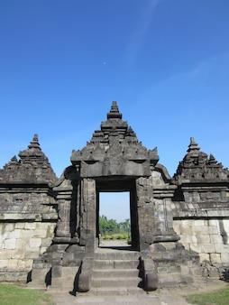 Candi plaosan or plaosan temple is buddhist temple located in klaten, central java, indonesia. Premium Photo