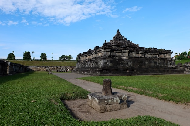 Candi sambisari or sambisari temple is hindu temple located in yogyakarta, indonesia.
