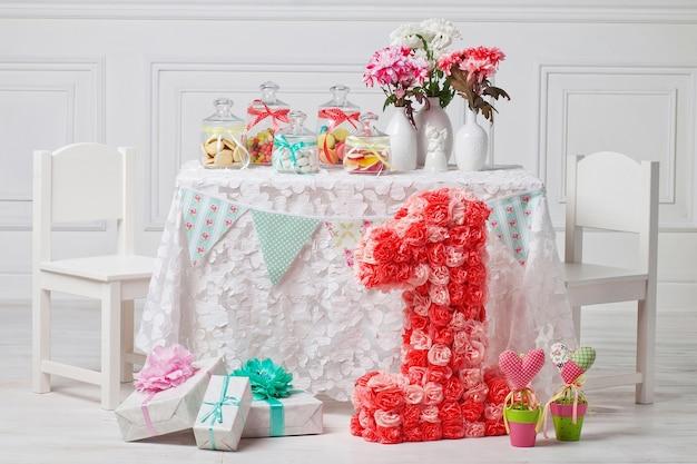 1歳の誕生日パーティーのキャンディーバー