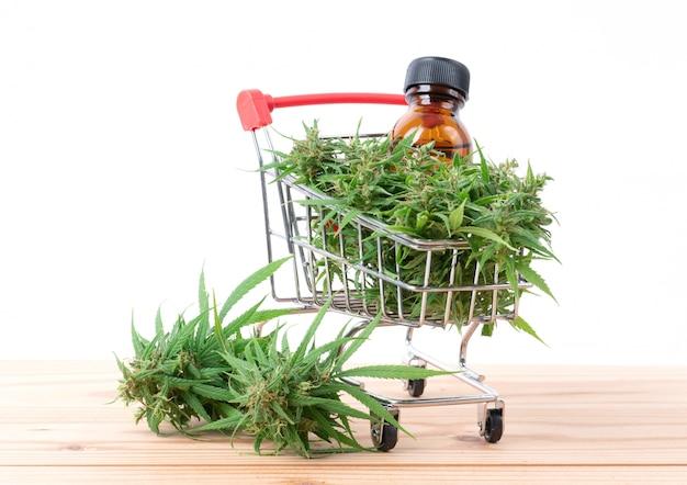 Cannabis with cannabidiol extract