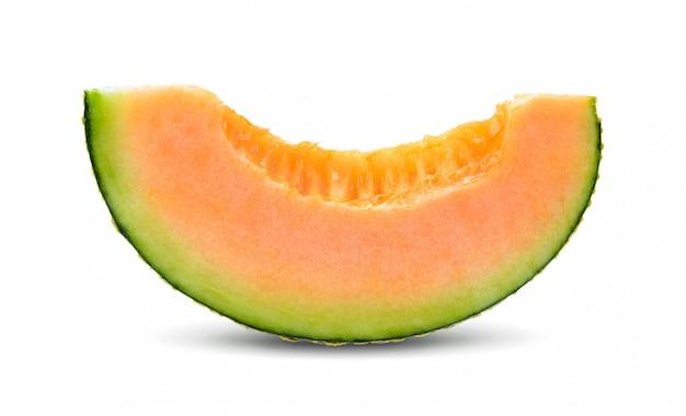 Cantaloupe melon isolated