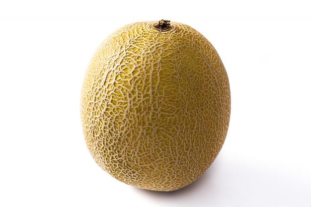 Cantaloupe yellow melon fruit