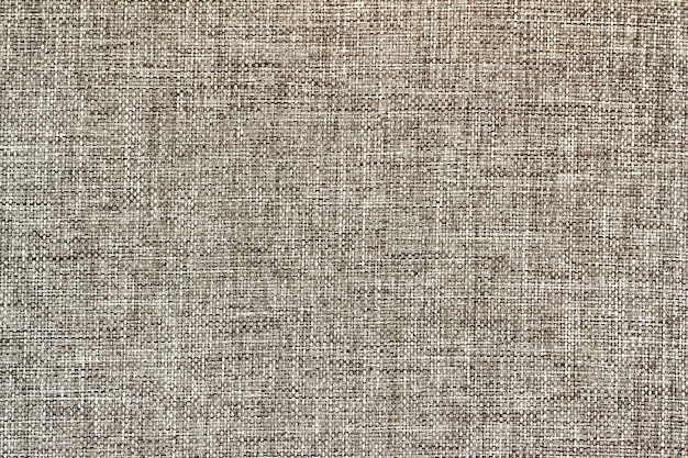 A canvas of gray cotton fabric.background, textile texture.