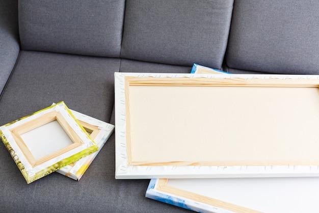 Печать на холсте. фото с галерейным методом натяжения холста на подрамник, боковая сторона