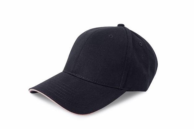 Кап изолирован на белом фоне. бейсбольная кепка.