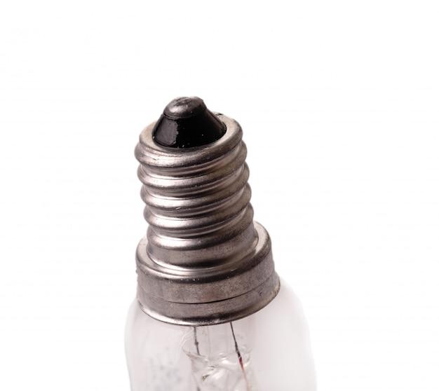 新しい電球のキャップ