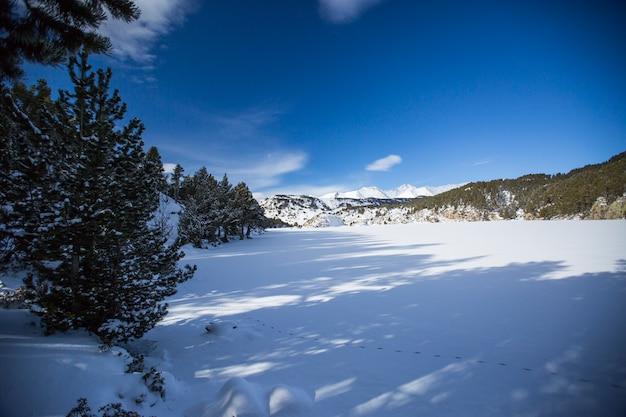 Capcir、ピレネー、フランスの冬