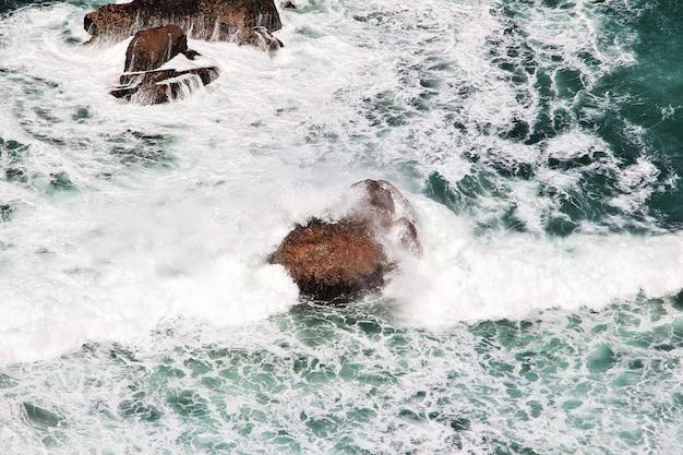 大西洋、ポルトガルのロカ岬