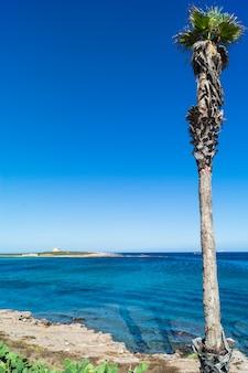 Capopassero island. portopalo di capo passero in sicily