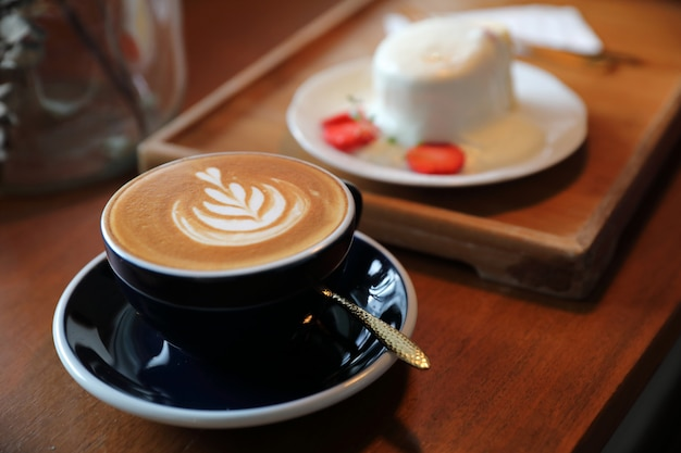 Cappuccino coffee break