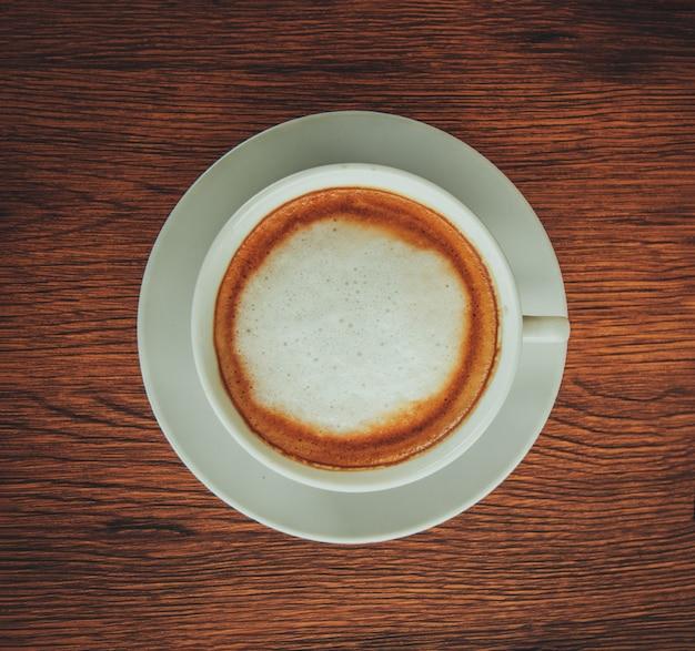 Cappuccino coffee cup Premium Photo