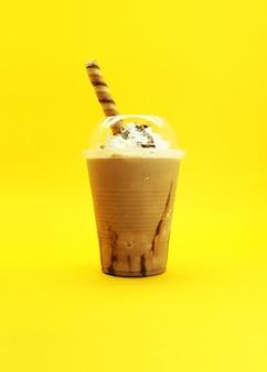Cappuccino with cream