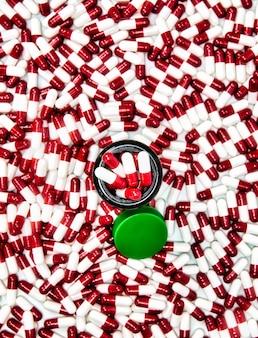 カプセルピル薬