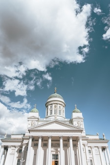 A capture of helsinki cathedral