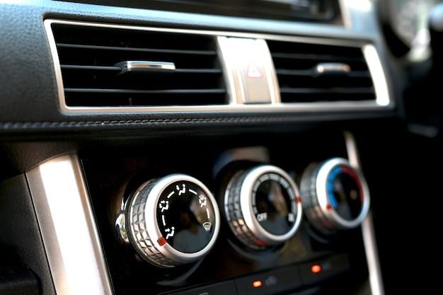 Car air conditioner heat inside the car