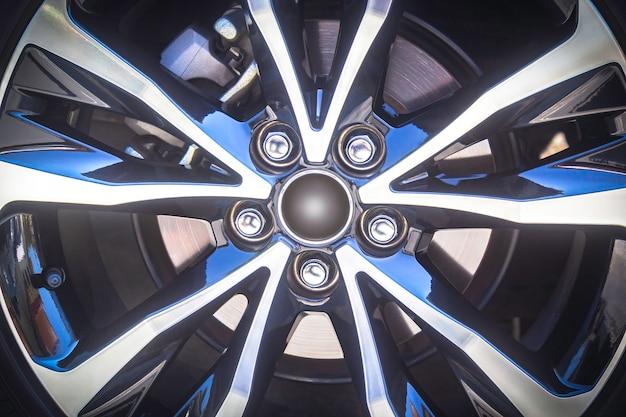 Car alloy rim background
