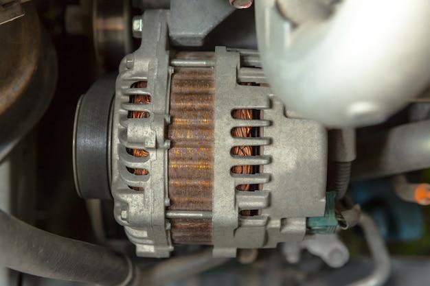The car alternator
