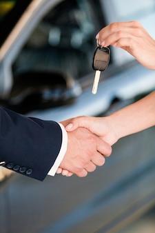 Car auto repair shop car rental key buying car salesperson car key