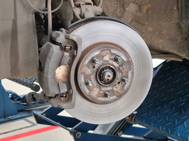 자동차 브레이크 시스템 유지 보수 디스크 브레이크