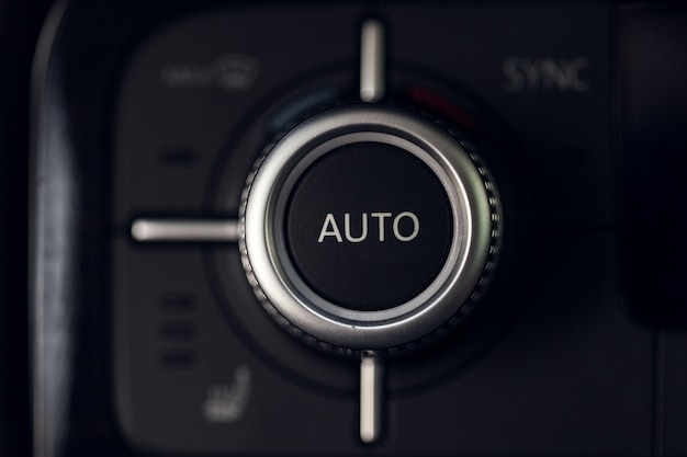Car climate control button