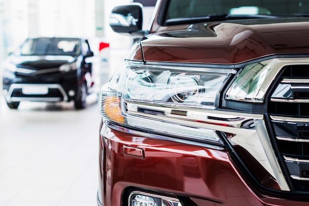 Car in dealership
