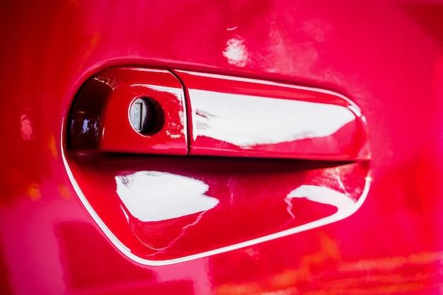 Ручка двери автомобиля