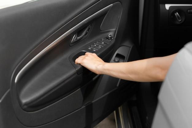 Car door inside
