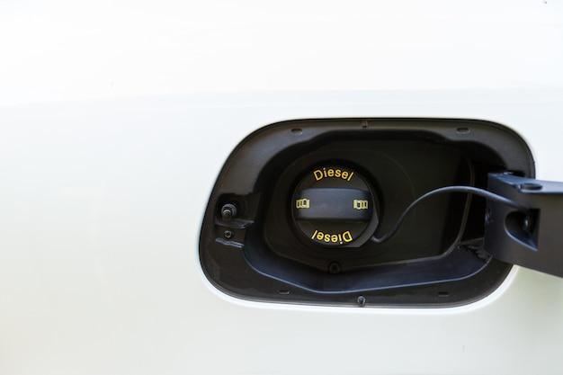 Car fuel tank cover
