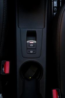 자동차 핸드 브레이크, 주차 버튼