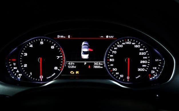 Car instrument panel