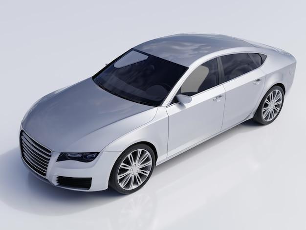 Автомобиль, изолированные на серый