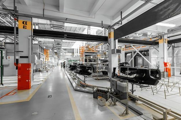 자동차 페인트 가게 현대 공장