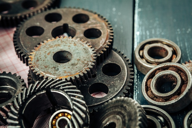 Car parts gears and bearings