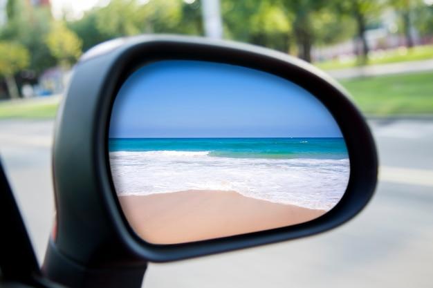 Car rearview mirror