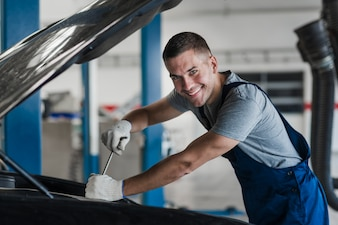 Car repair business composition
