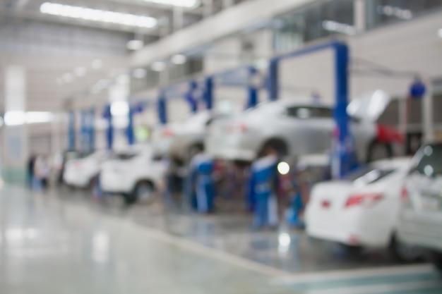 Центр обслуживания автомобилей ремонта размыты