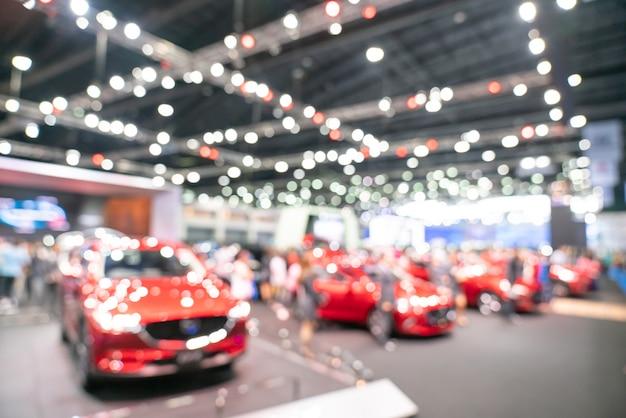 Продажа автомобилей, расфокусированный фон
